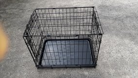 METAL FOLD-UP ANIMAL CAGE/CRATE STILL AVAILABLE in Warner Robins, Georgia