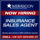 Insurance Sales Agent in Spangdahlem, Germany