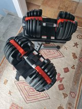 Adjustable Dumbbells with stand in Baumholder, GE