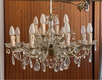 Large Maria Theresa Crystal Chandelier Antique in Ramstein, Germany