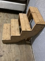 pet steps solid wood in New Orleans, Louisiana