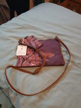 NEW National Trust Purple Felbrigg Fern Handbag & Coin Purse in Lakenheath, UK