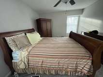 Queen size bed with Mattress Set in Warner Robins, Georgia