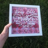 Mother Heart Shadow box in Fort Riley, Kansas