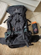 Super awesome backpack- Deuter Aircontact 75+10 in Baumholder, GE