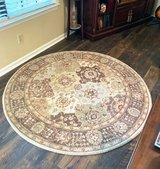 Nice Circular Area Rug Excellent Condition! in Beaufort, South Carolina