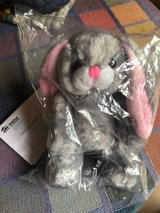 stuffed bunny, new in bag in Plainfield, Illinois
