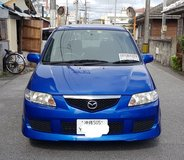 2003 Mazda Premacy-Great Family Car! Seats 7, Cold air/Low miles/Available 21 May 21 in Okinawa, Japan