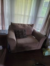 Chair and a half with foot stool in Fort Campbell, Kentucky