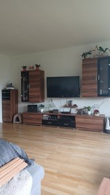 Livingroom setup/ wall unit in Ansbach, Germany