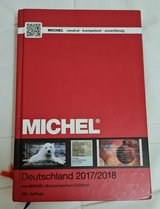 Michel Germany Stamp Catalog -- 2017-2018 Edition in Ramstein, Germany