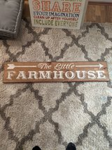 Farm House sign in Baumholder, GE