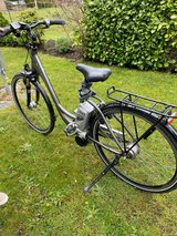 Lady's e-bike in Spangdahlem, Germany