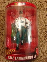 Dale Earnhardt Jr collectible figure in The Woodlands, Texas