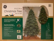 9' Tall Pre Lit Christmas Tree - Price Reduced in Ramstein, Germany