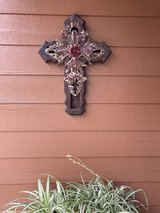 reduced to $15 Rustic Large indoor/outdoor  cross in The Woodlands, Texas