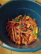 Lincoln Logs and wooden blocks in Conroe, Texas