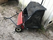 Lawn rake attachment for riding mower in Beaufort, South Carolina