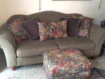 Free large couch and ottoman free in Wiesbaden, GE