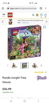 NEW Lego friends Panda Tree House 41422 in Lakenheath, UK