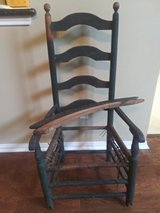 Rocking chair from the late 1800's in The Woodlands, Texas
