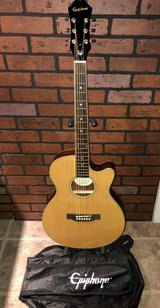Epiphone Acoustic Electric Guitar in Kingwood, Texas