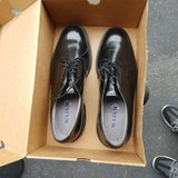 Military issued leather dress shoes 11.5C (narrow). Ask for servicemember discount. in Miramar, California