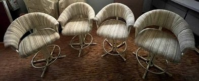 *Reduced* 4 Counter Stools - Upholstered in 29 Palms, California