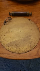 Antique hanging Gong in Fort Polk, Louisiana