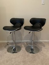 2 Faux leather bar stool in Fort Belvoir, Virginia