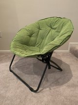 Foldable chair in Fort Belvoir, Virginia