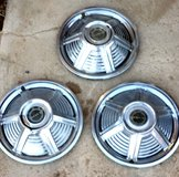 """1960's Ford Mustang 14"""" Hubcaps set of 3 in 29 Palms, California"""
