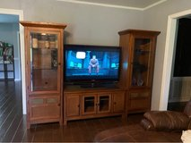 Living room set, table, hutch, entry way table, & end tables in Fort Polk, Louisiana