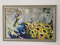 Beautiful acrylic painting with frame in Spangdahlem, Germany