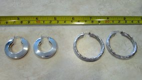 925 Sterling Silver Earrings, Your Choice in Tomball, Texas
