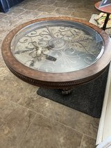 Nice expensive round coffee table 44 x 22 in 29 Palms, California