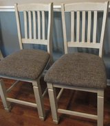 NEW SET of 2 Barstools Two Tone Upholstered Bar Stool Ashely Furniture in Fort Campbell, Kentucky