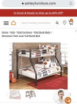 bunk bed in Fort Lewis, Washington
