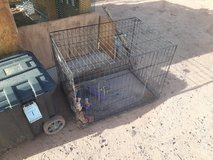 Dog/Cat Cage Medium Size in Fort Bliss, Texas