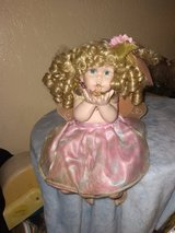 Porcelain doll with angel wings in Fort Hood, Texas
