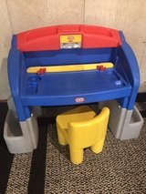Little Tikes desk/workbench with chair in St. Charles, Illinois