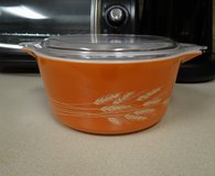 Pyrex casserole dish with lid in Kingwood, Texas