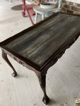 Unique Hand Refinished Solid Wood Table in Quad Cities, Iowa