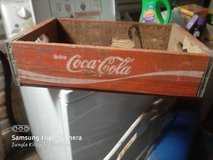 Coca Cola Crate Old in Fort Polk, Louisiana