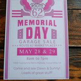 Memorial Day Garage Sale Rt 62 Vintage Marketplace in 29 Palms, California