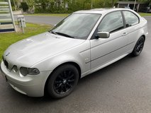 BMW 316 ti compact AC sunroof Sports package new inspection free delivery in Hohenfels, Germany