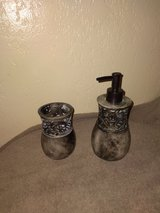 Tooth brush holder & liquid hand soap dispencer in Fort Hood, Texas