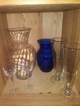 glass vase lot in The Woodlands, Texas