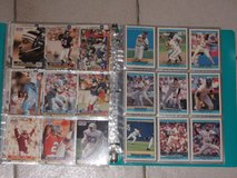 Binder with football and baseball cards in Ansbach, Germany