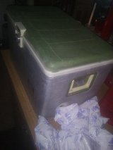Vintage Aluminum Sears Cooler with icepacks in Fort Bliss, Texas